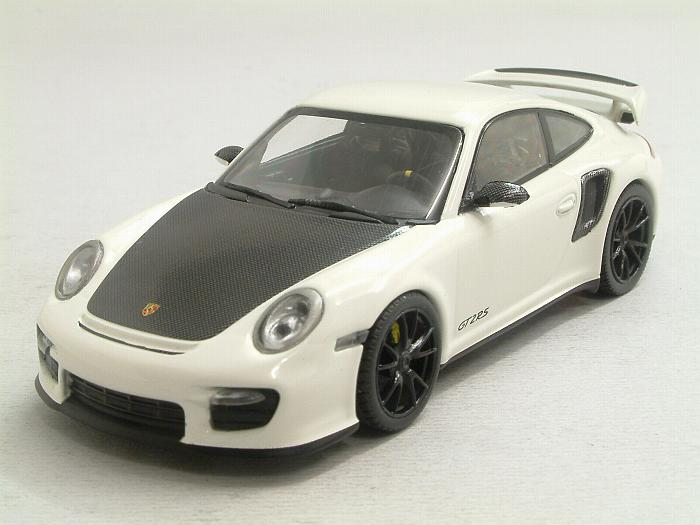 minichamps porsche 911 997 ii gt2 rs 2010 carrera white 1 43 scale model. Black Bedroom Furniture Sets. Home Design Ideas