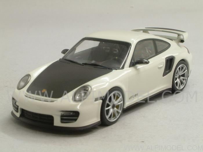 minichamps porsche 911 997 ii gt2 rs 2010 carrara white 1 43 scale model. Black Bedroom Furniture Sets. Home Design Ideas