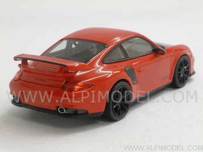 minichamps porsche 911 997 ii gt2 rs 2010 indian red 1 43 scale model. Black Bedroom Furniture Sets. Home Design Ideas