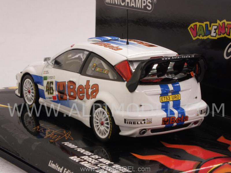 Ford Focus RS WRC BETA #46 Rally 2007 Valentino Rossi - Cassina - minichamps