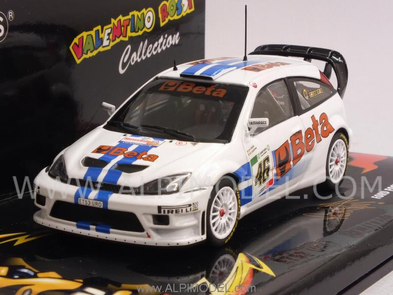 Ford Focus RS WRC BETA #46 Rally 2007 Valentino Rossi - Cassina by minichamps