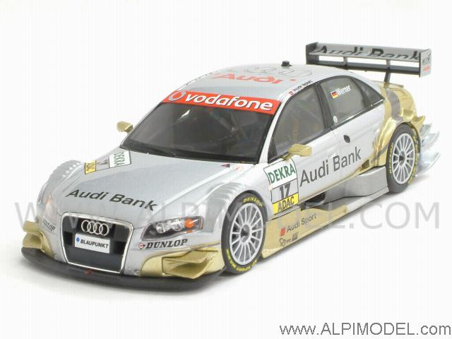 Audi A4 Audi Bank DTM 2007 M. Werner by minichamps