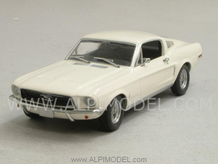 Ford Mustang 2+2 Fastback 1968 (White) by minichamps