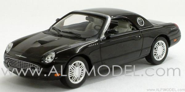 Ford Thunderbird 2002 (Black) by minichamps