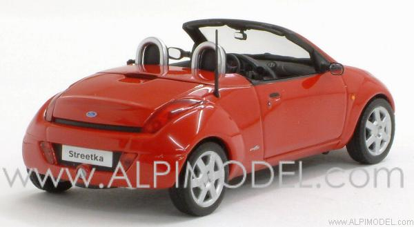Ford StreetKa 2003 Red - minichamps