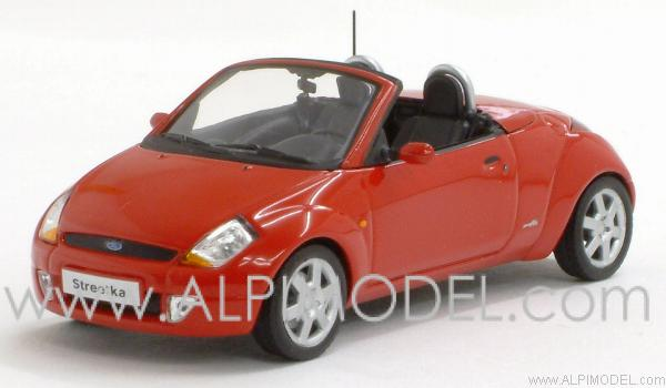 Ford StreetKa 2003 Red by minichamps