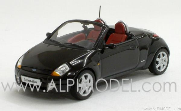 Ford StreetKa 2003 (Black) by minichamps
