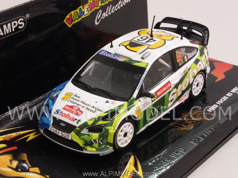 Ford Focus Rally Stobart Valentino Rossi Rally Wales 2008 - minichamps