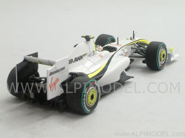 Brawn GP BGP001 2nd Place GP Australia 2009 R. Barrichello - minichamps