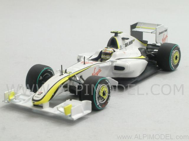 Brawn GP BGP001 2nd Place GP Australia 2009 R. Barrichello by minichamps