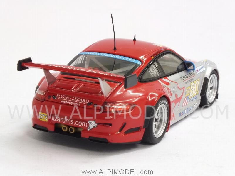 Porsche 911 GT3 RSR Flying Lizards  #80 Le Mans 2009 Bergmeister - Neiman - Law - minichamps