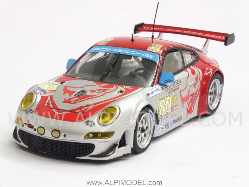 Porsche 911 GT3 RSR Flying Lizards  #80 Le Mans 2009 Bergmeister - Neiman - Law by minichamps