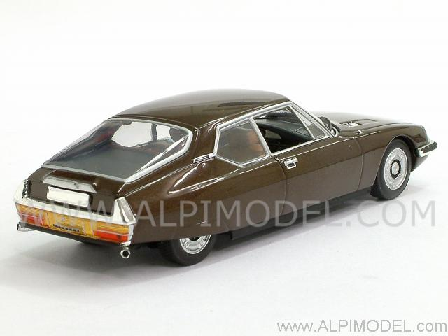 Minichamps Citroen Sm Maserati 1970 Brown Metallic 1 43