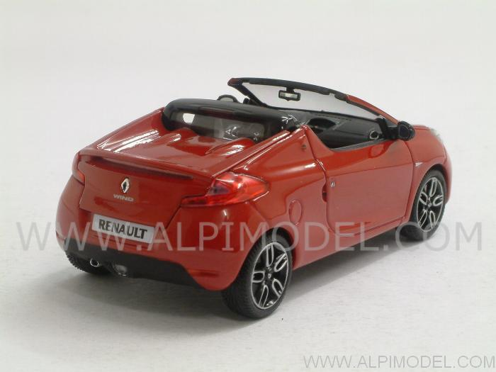 Renault Wind 2010 (Dyna Red) - minichamps