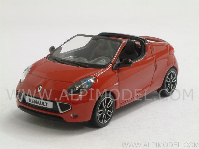 Renault Wind 2010 (Dyna Red) by minichamps