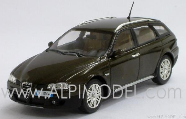 Alfa Romeo 156 Crosswagon 2004 (Montreaux Olive Metallic). by minichamps