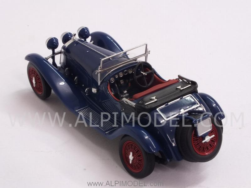 1:43 Minichamps Alfa Romeo 6C 1750 GS Convertible 1930 blue