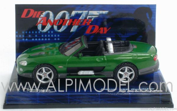 Jaguar XKR Roadster - Bond nemesis Zao 'Die another day' by minichamps