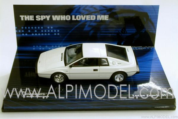 Lotus Esprit 007 James Bond 'The spy who loved me' by minichamps