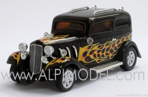 American Hot Rod (Black with flames) by minichamps