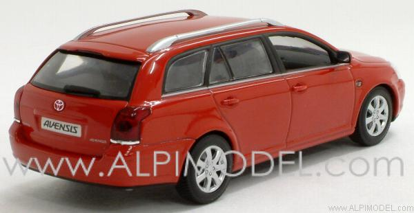 Toyota Avensis Station Wagon 2002 (Solar Red) - minichamps