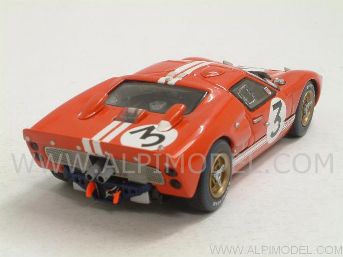 Ford GT40 MkII #3 Le Mans 1966 Gourney - Grant - minichamps