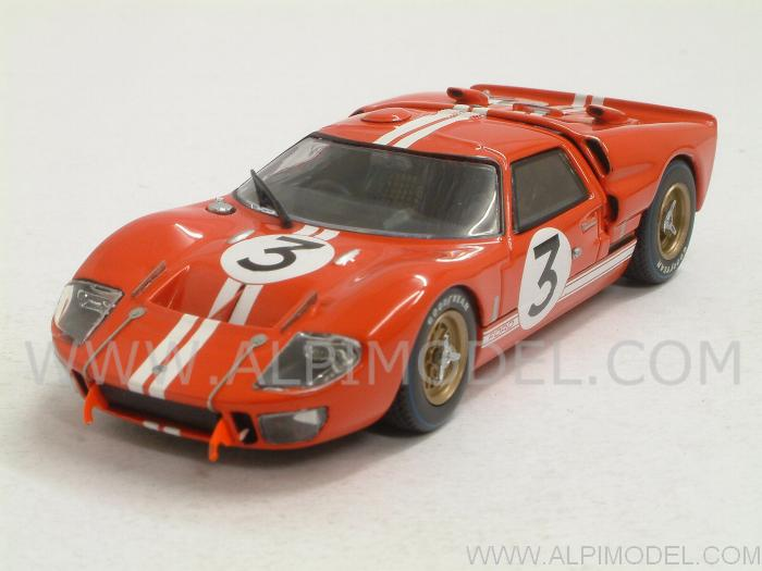 Ford GT40 MkII #3 Le Mans 1966 Gourney - Grant by minichamps