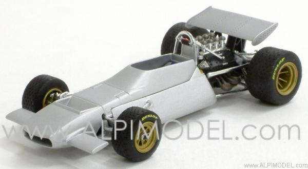 De Tomaso Ford 505/38 - Frank Williams Racing Team - Factory Roll Out. by minichamps
