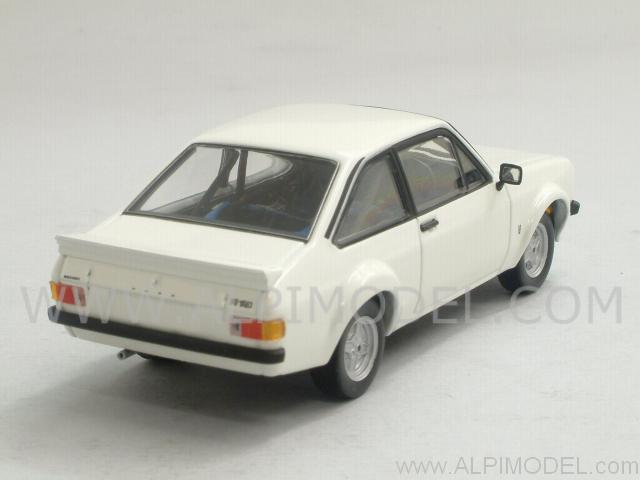 Ford Escort MkII RS1800 Rally 1975 (Diamond White) - minichamps