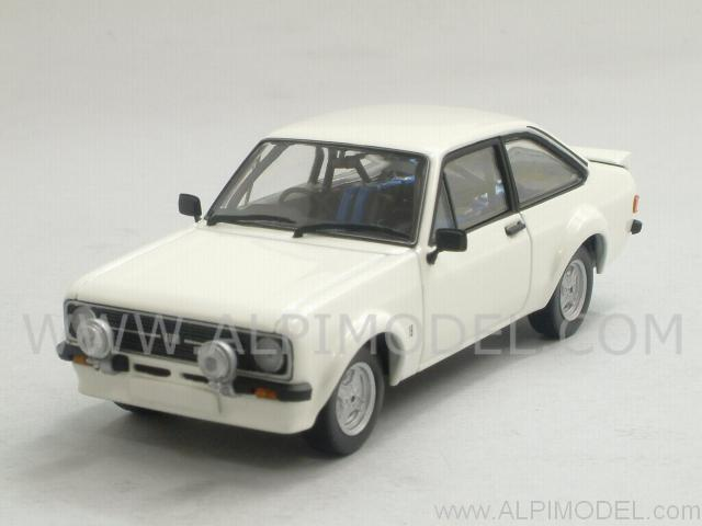 Ford Escort MkII RS1800 Rally 1975 (Diamond White) by minichamps