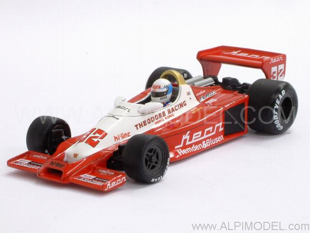 Wolf Ford WR1 Theodore Racing 1978 Keke Rosberg by minichamps