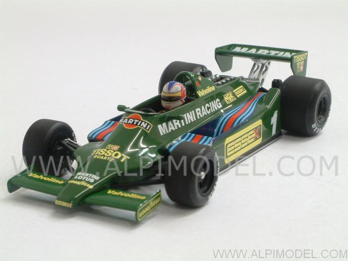 Lotus 79 Ford  Martini 1st Test Paul Ricard 1979  Nigel Mansell by minichamps