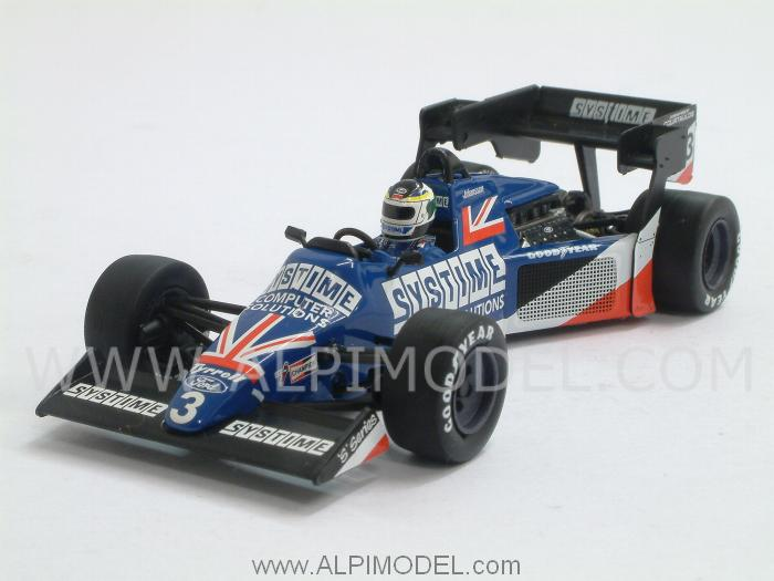 Tyrrell Ford 012 British GP 1984 Stefan Johansson by minichamps
