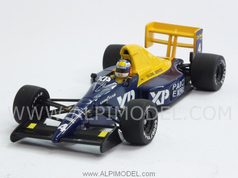 Tyrrell Ford 018 GP France 1989 Jean Alesi by minichamps