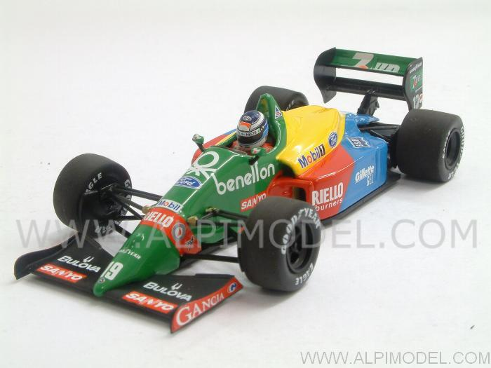 Benetton B188 Ford  GP Silverstone 1990 First F1 Test Mika Hakkinen by minichamps