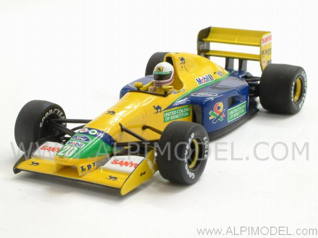 Benetton B191B Ford  1992 M. Brundle by minichamps