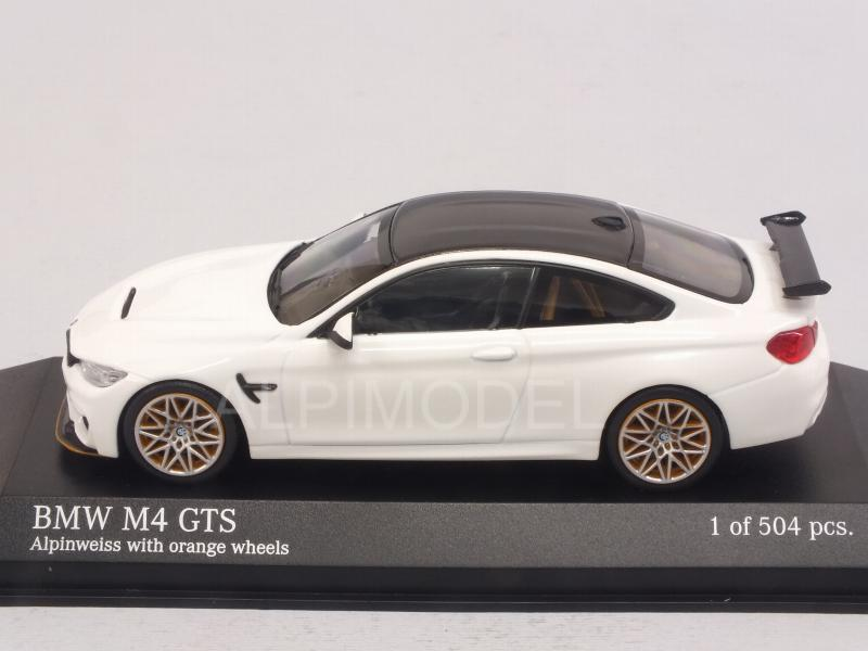 BMW M4 GTS 2016 (White) - minichamps