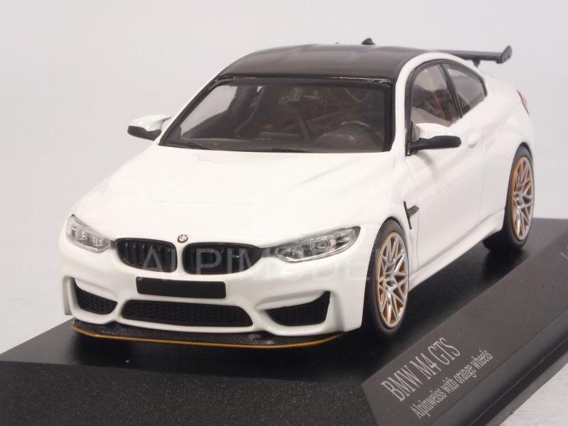 BMW M4 GTS 2016 (White) by minichamps