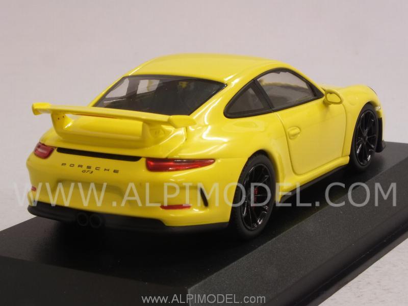 minichamps Porsche 911 GT3 (991) 2013 (Racing Yellow) (1 ...