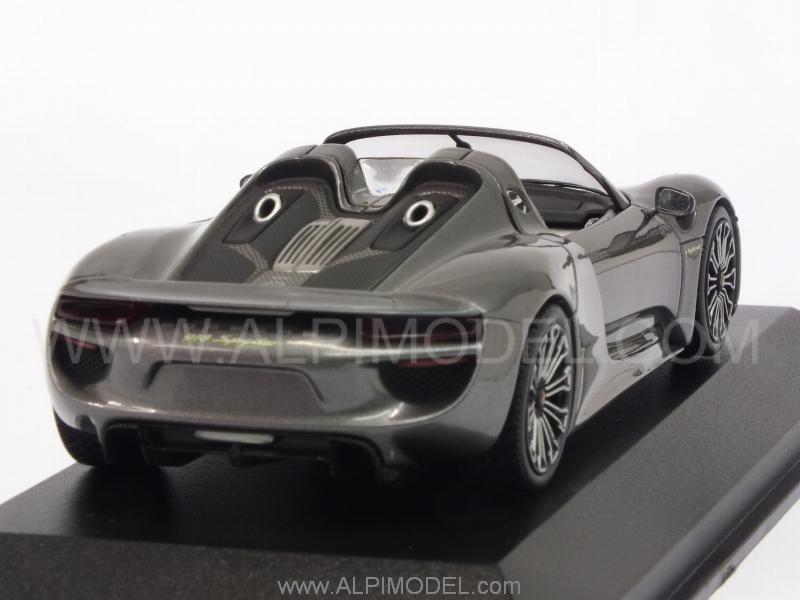 Porsche 918 Spyder Final 2013 (Meteor Grey Metallic) - minichamps