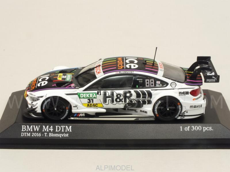 BMW M4 F82 Team MTEK #31 DTM 2016 Tom Blomqvist - minichamps