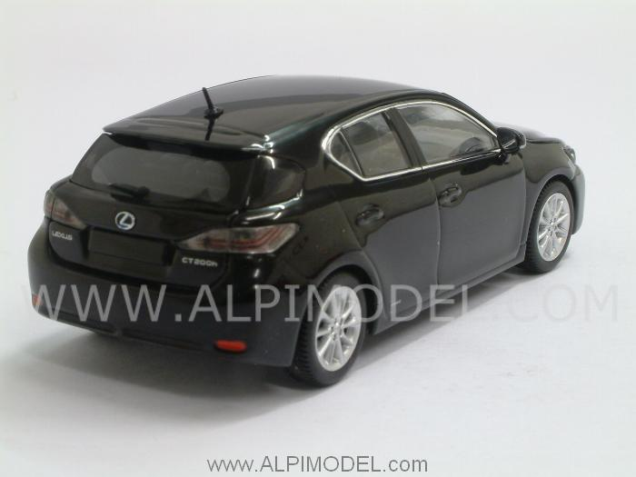 Lexus CT200h 2011 (Onyx Black) - minichamps