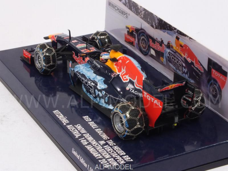 Red Bull RB7 Snow Run 2016 Kitzbuhel (Austria)  Max Verstappen - minichamps