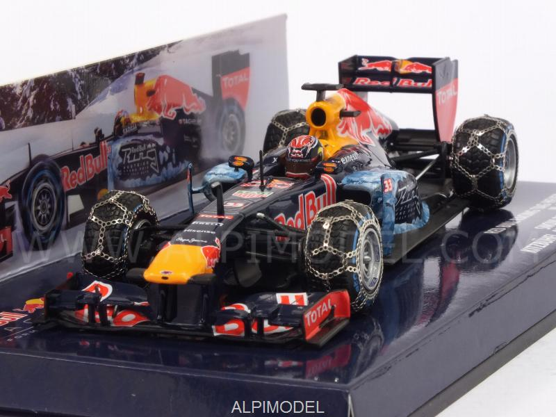 Red Bull RB7 Snow Run 2016 Kitzbuhel (Austria)  Max Verstappen by minichamps