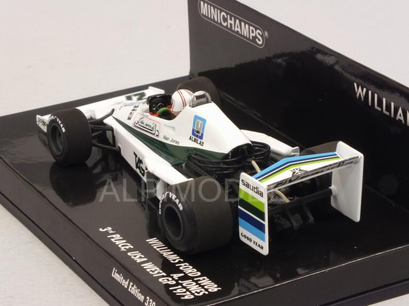 Williams FW06 Ford #27 GP USA West 1979 Alan Jones - minichamps