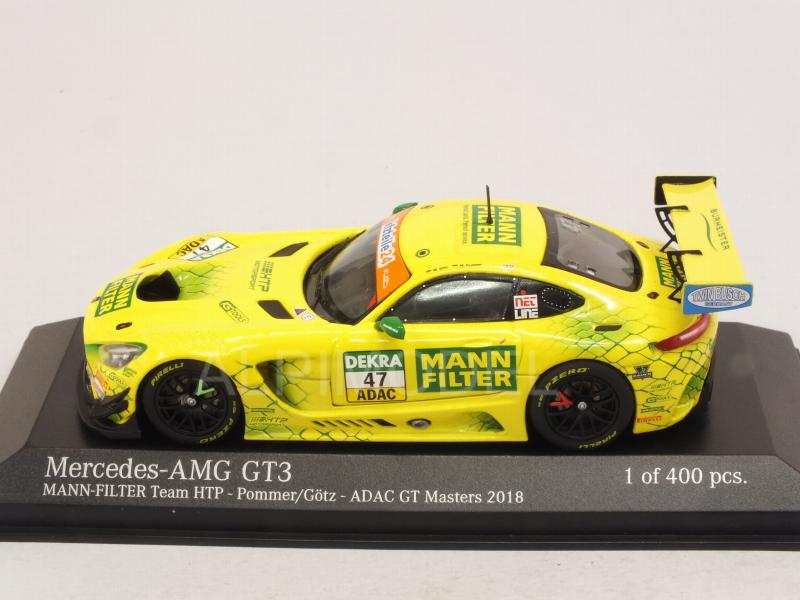 Götz 1:43 Minichamps Mercedes-Benz AMG GT3 #47 ADAC GT Masters 2018 Pommer