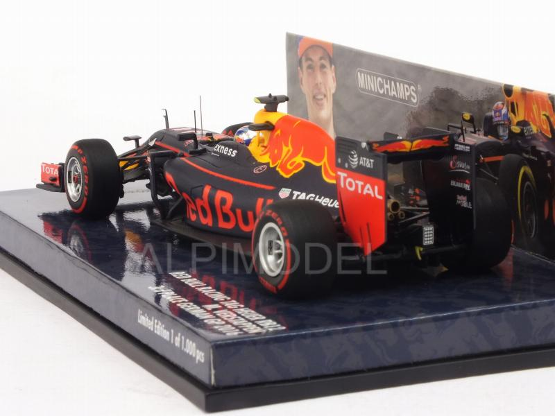 Red Bull RB12 #33 GP Germany 2016 3rd Place Max Verstappen (HQ resin) - minichamps