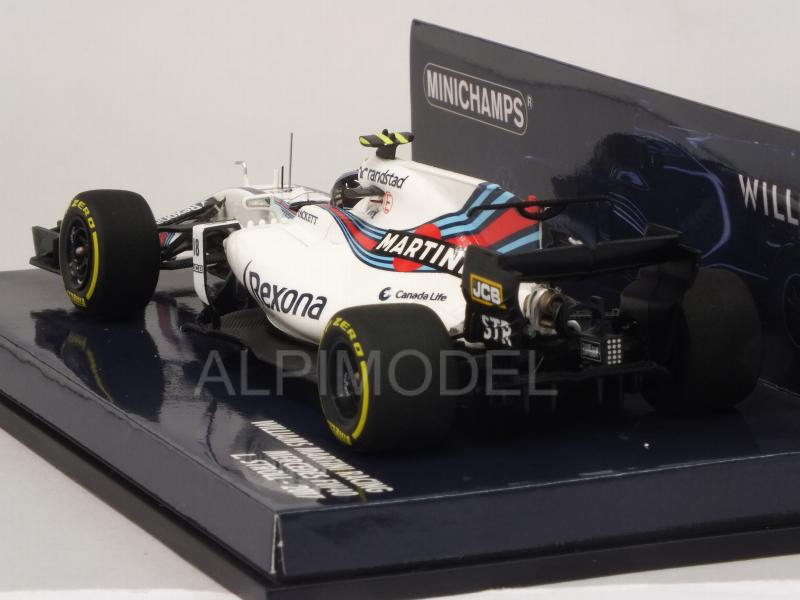 Williams FW40 Martini #18 2017 Lance Stroll  (HQ resin) - minichamps