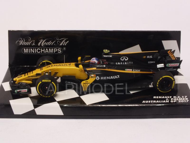 Palmer  Formel 1 GP Australien 2017-1:43 Minichamps 417170030 Renault R.S.17