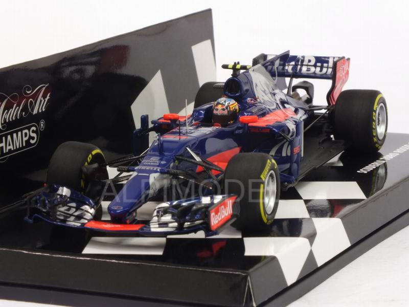 Toro Rosso STR12 #55 GP China 2017 Carlos Sainz Jr.  (HQ resin) by minichamps
